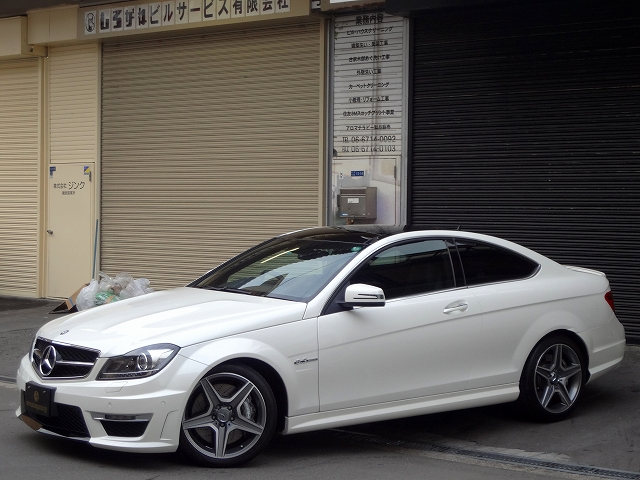 Mercedes-Benz C-Class AMG C63 COUPE